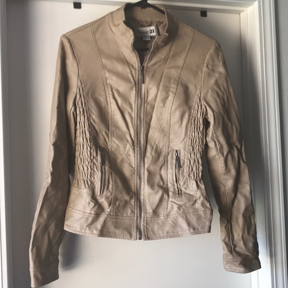 Forever 21 Jackets & Blazers - Faux Leather Jacket